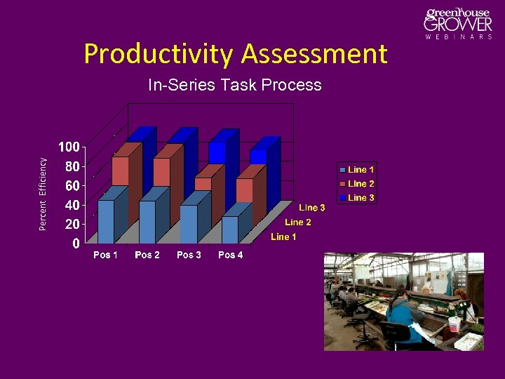 Productivity Assessment Percent Efficiency In-Series Task Process