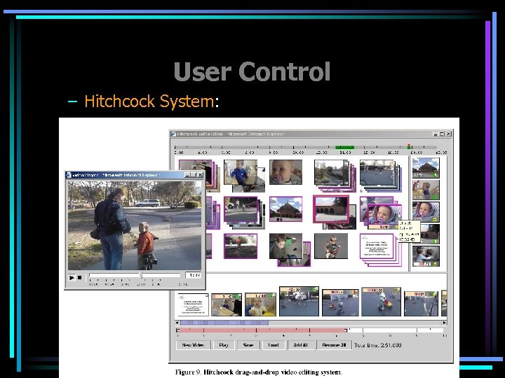 User Control – Hitchcock System: