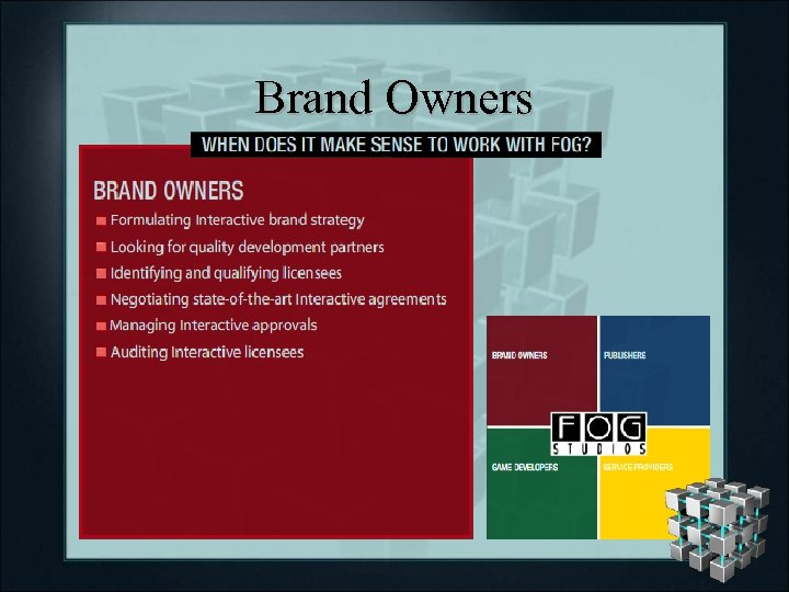 Brand Owners