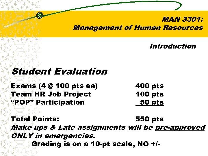 hr man 3301 syllabus Fgcu course syllabus course number man 3301 - fall 2016 / crn 80904 course title human resource management description college of business.