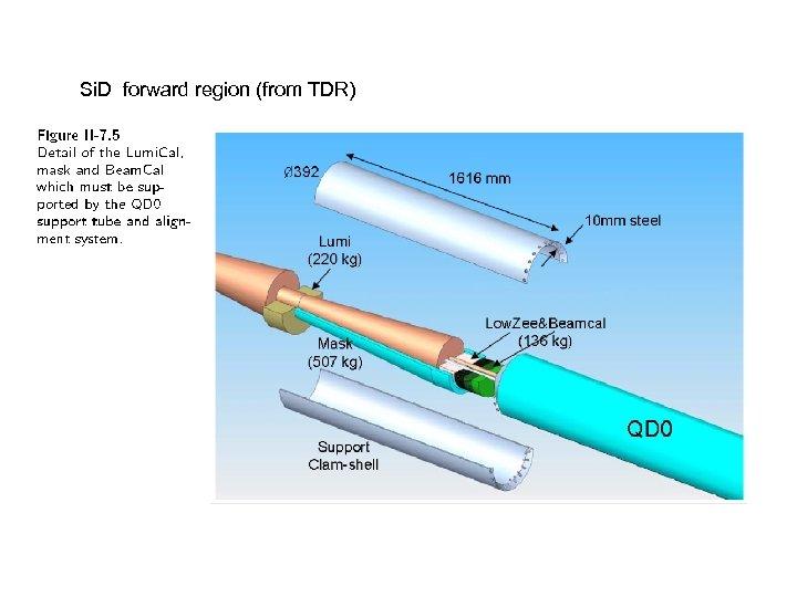 Si. D forward region (from TDR)