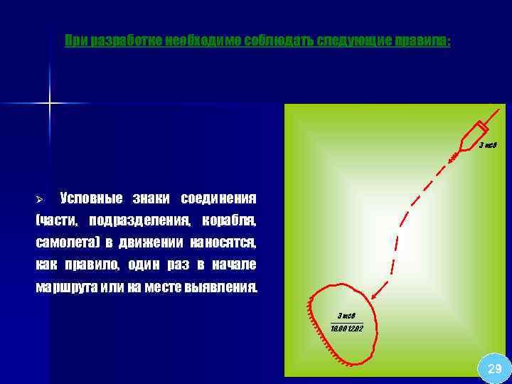 При разработке необходимо соблюдать следующие правила: 3 мсб Ø Условные знаки соединения (части, подразделения,