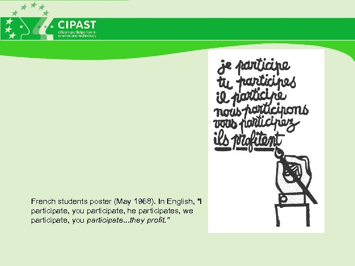 French students poster (May 1968). In English,
