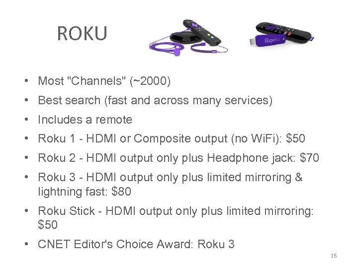 ROKU • Most