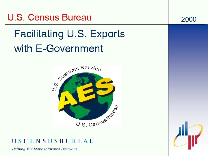 U. S. Census Bureau Facilitating U. S. Exports with E-Government 2000