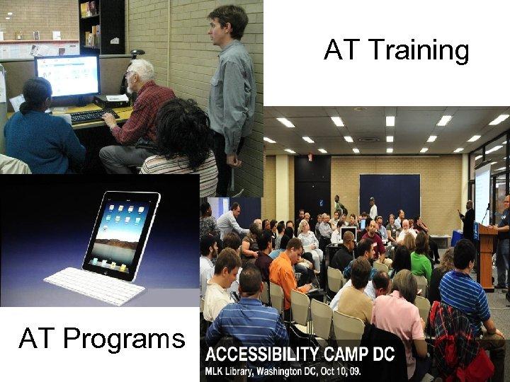 AT Training AT Programs