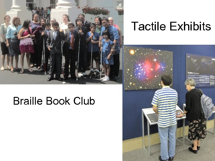 Tactile Exhibits Braille Book Club