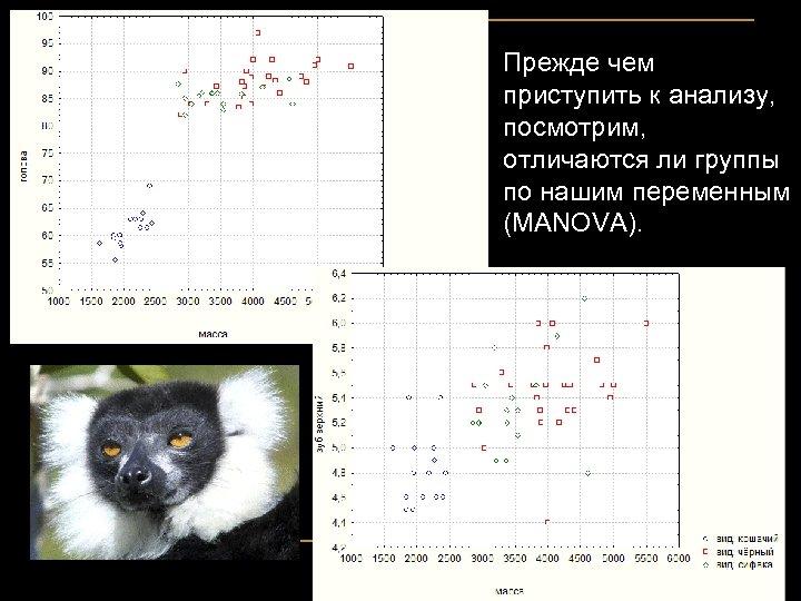 Прежде чем приступить к анализу, посмотрим, отличаются ли группы по нашим переменным (MANOVA).
