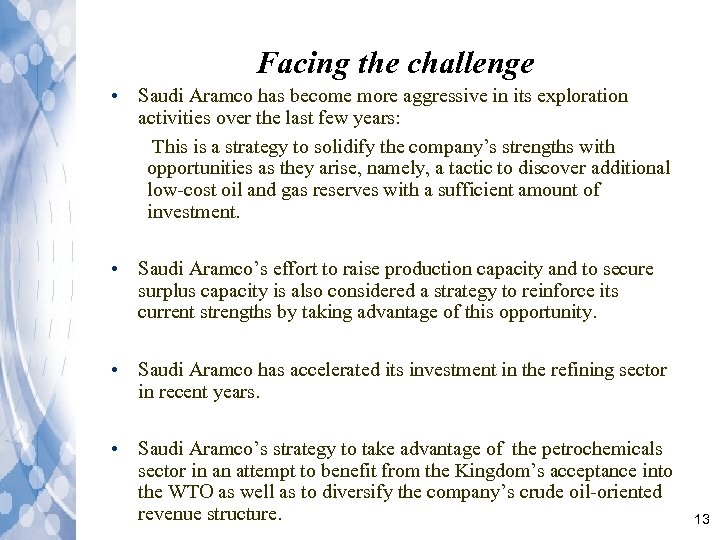 Saudi Aramco Group Project Revision of Management Functions
