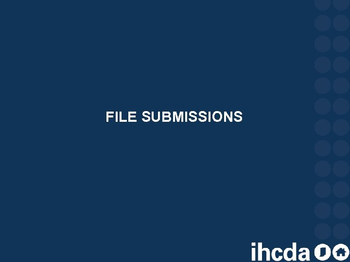 FILE SUBMISSIONS