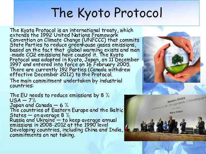 the advantages and limitations of the kyoto protocol Free term papers & essays - kyoto protocol advantages and limitations, social issues.
