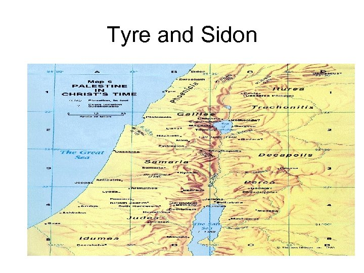 Tyre and Sidon