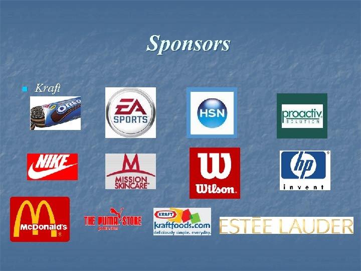Sponsors n Kraft