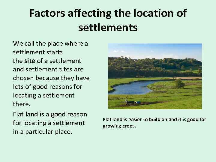 What is a settlement A settlement is any