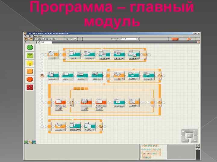 Программа – главный модуль 7