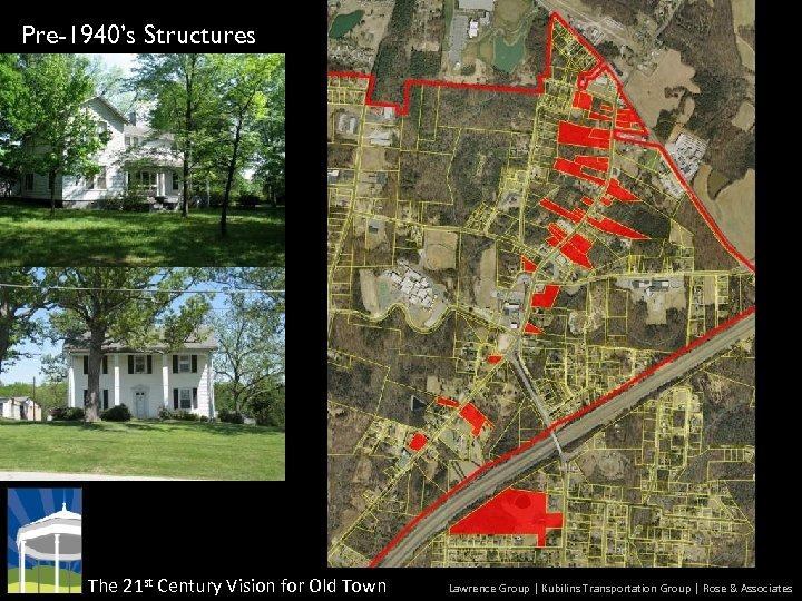 Pre-1940's Structures The 21 st Century Vision for Old Town Lawrence Group | Kubilins