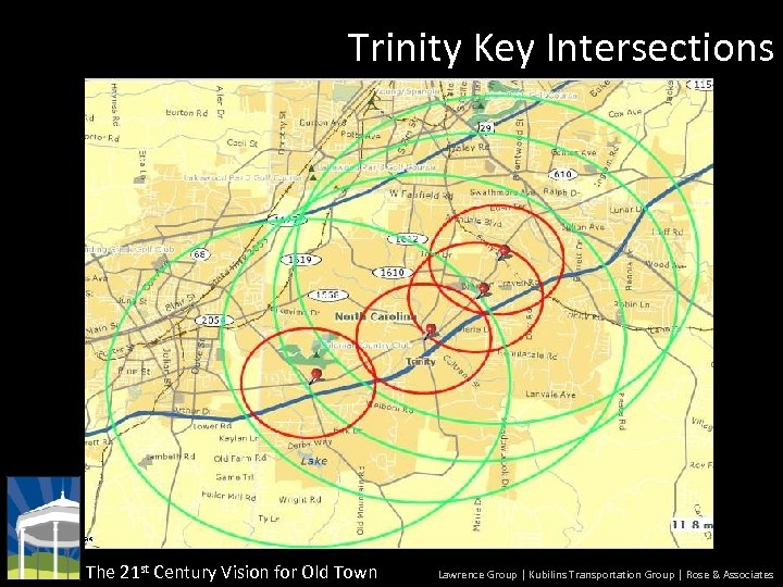 Trinity Key Intersections The 21 st Century Vision for Old Town Lawrence Group |