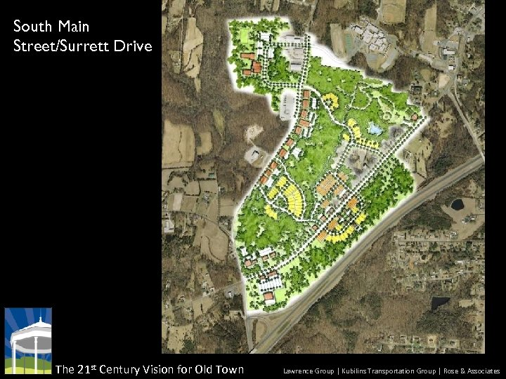 South Main Street/Surrett Drive The 21 st Century Vision for Old Town Lawrence Group