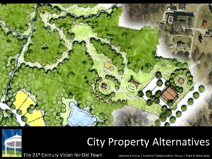 City Property Alternatives The 21 st Century Vision for Old Town Lawrence Group |
