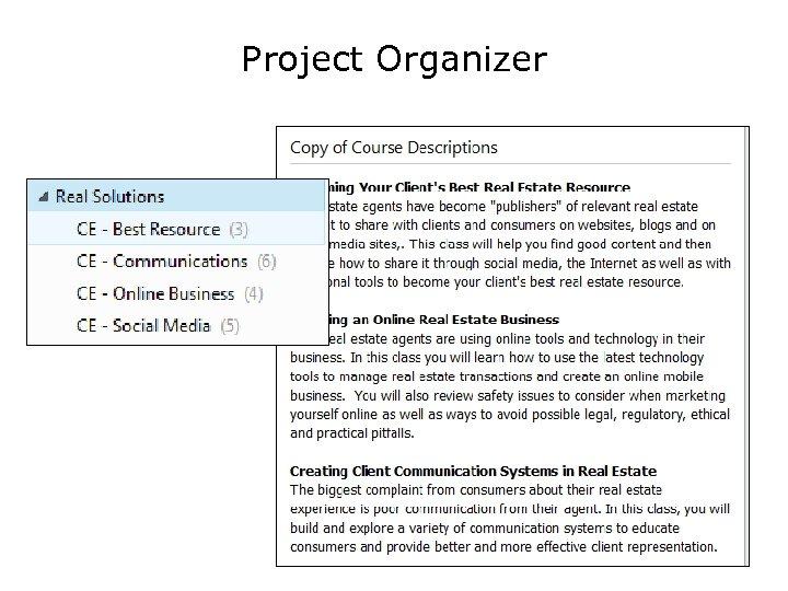 Project Organizer