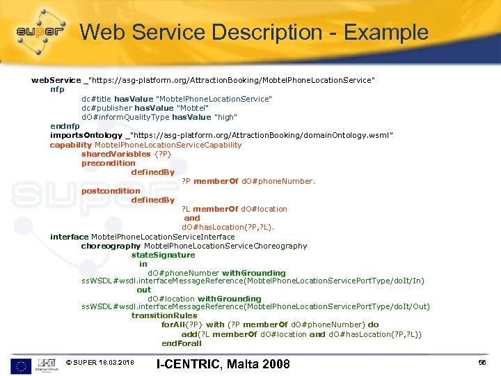 Web Service Description - Example web. Service _