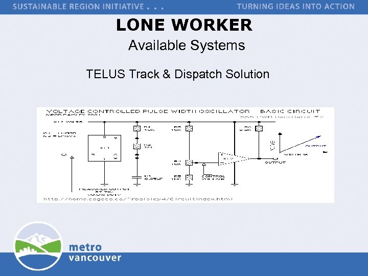 LONE WORKER Available Systems TELUS Track & Dispatch Solution