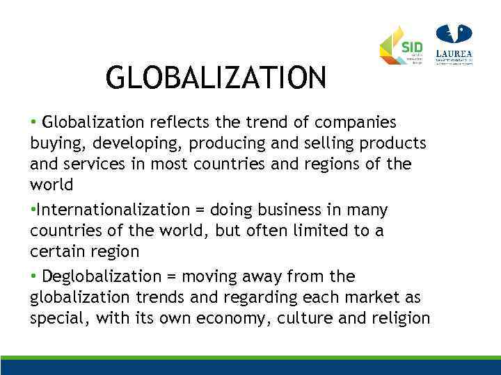 globalization trends