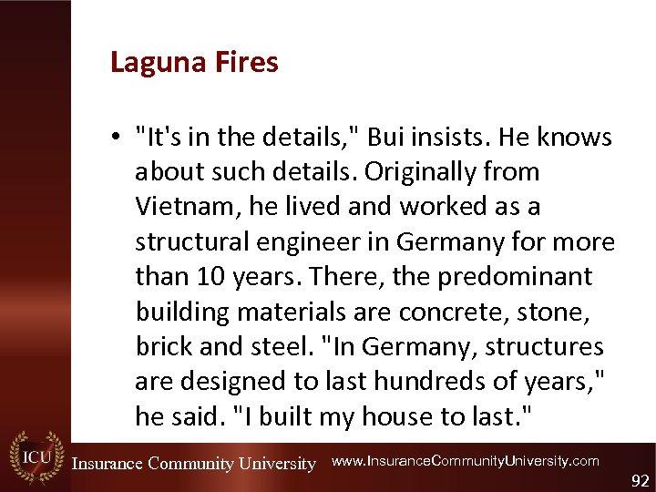 Laguna Fires •