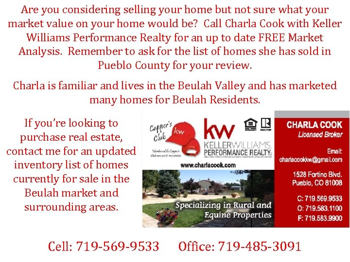 Are you considering selling your home but not sure what your market value on
