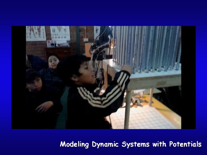 Modeling Dynamic Systems with Potentials