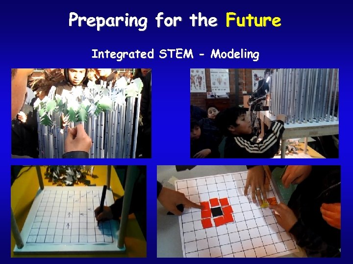 Preparing for the Future Integrated STEM - Modeling