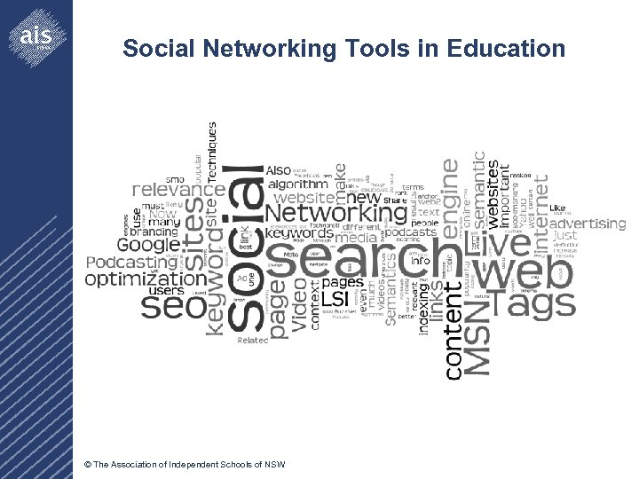 Social Networking Tools in Education © The Association of Independent Schools of NSW