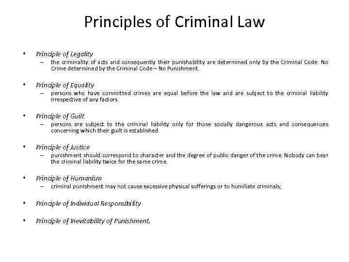 causation in criminal law essay Causation in criminal law by eric colvin professor of law bond university introduction in offences involving injury to the person, and especially in homicide.