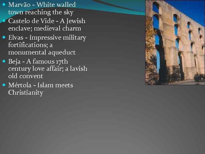 Marvão - White walled town reaching the sky Castelo de Vide - A