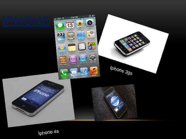 IPHONE Iphone 4 s ne 3 gs