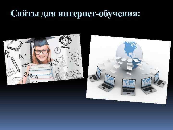 Сайты для интернет-обучения: