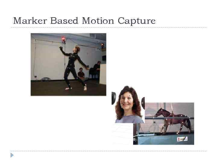 Marker Based Motion Capture