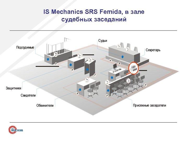 IS Mechanics SRS Femida, в зале судебных заседаний