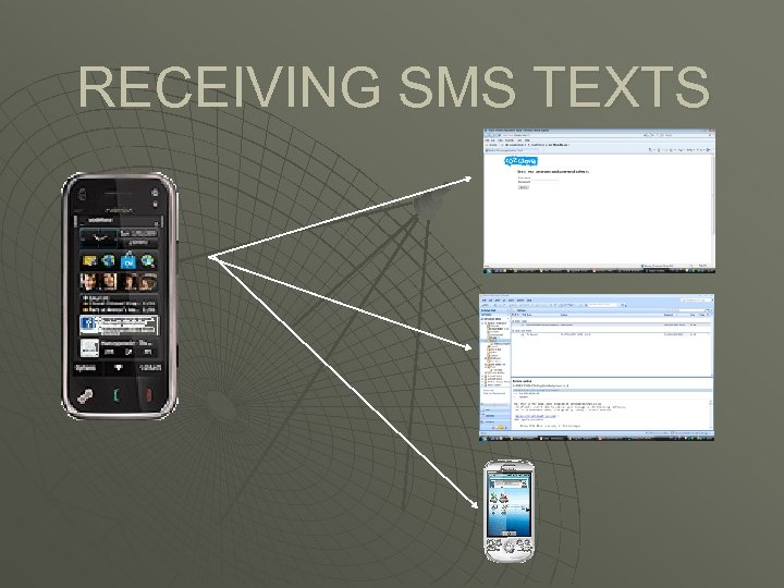 RECEIVING SMS TEXTS