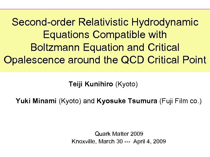 Second-order Relativistic Hydrodynamic Equations Compatible with Boltzmann Equation and Critical Opalescence around the QCD
