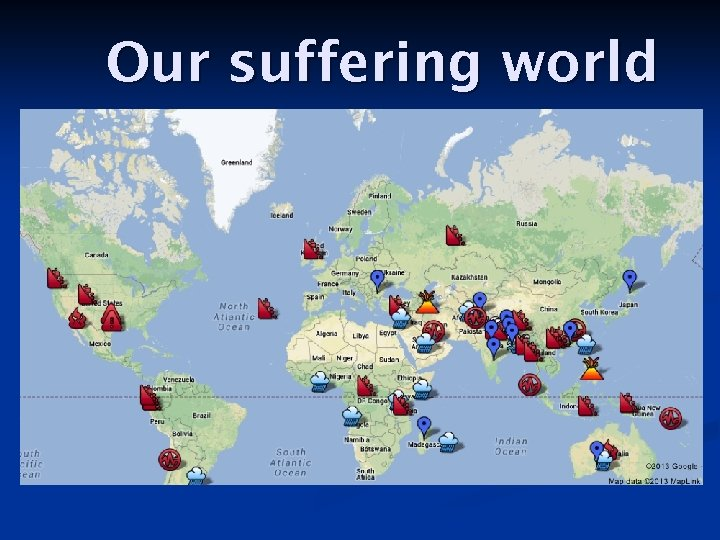 Our suffering world