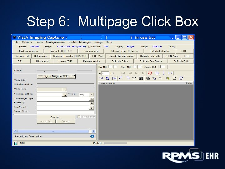 Step 6: Multipage Click Box