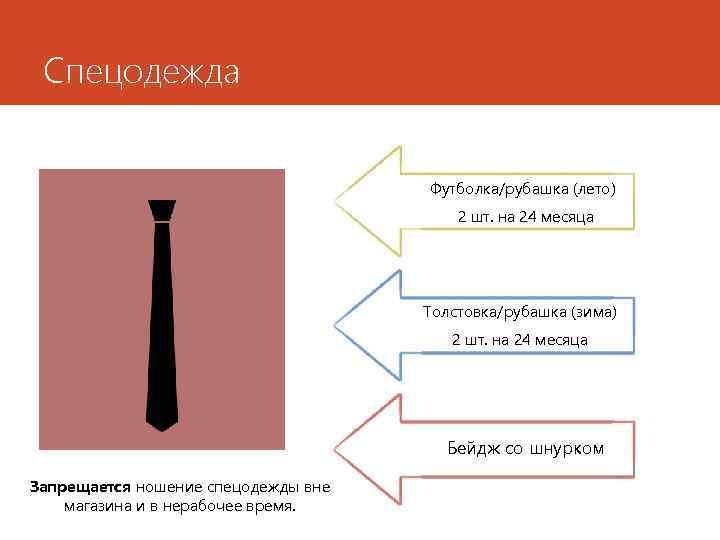 Спецодежда Футболка/рубашка (лето) 2 шт. на 24 месяца Толстовка/рубашка (зима) 2 шт. на 24
