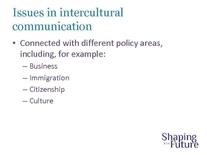 intercultural communication issues essay 6 barriers to intercultural communication essay there are six particular barriers to communication between people these are anxiety, assuming.