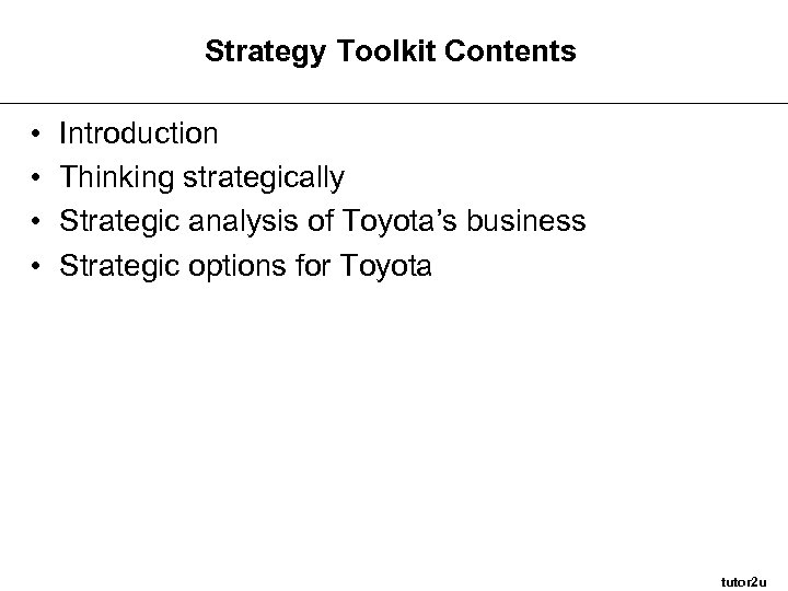 toyota transnational strategy Toyota is a fortune 9 company founded august 28, 1937, toyota today manufactures a diverse line-up of vehicles all over the globe as an innovative leader, toyota is well-known for its management philosophy and the world's first mass-market hybrids.