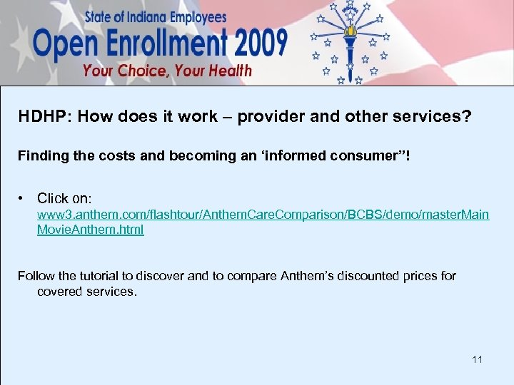 HDHP: How does it work – provider and other services? Finding the costs and