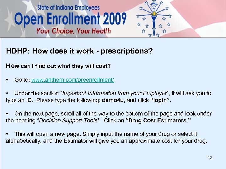 HDHP: How does it work - prescriptions? How can I find out what they