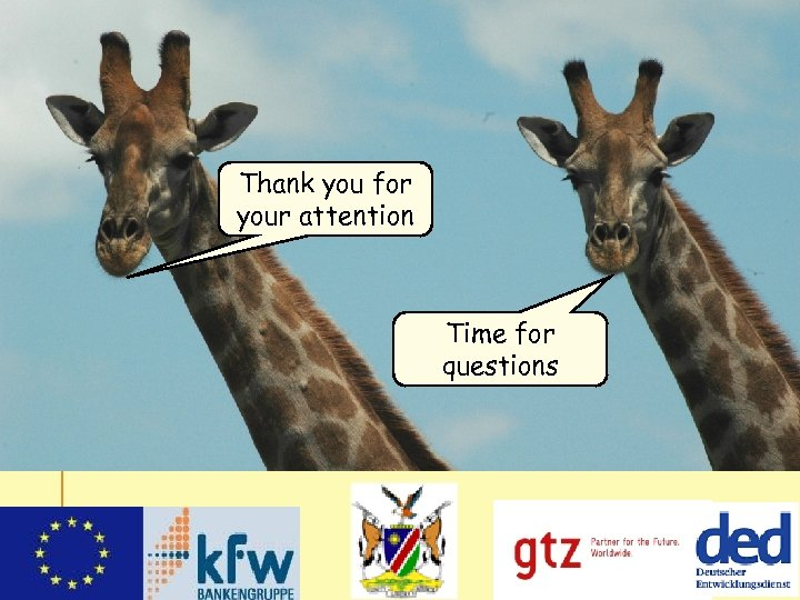 Thank you for your attention Time for questions