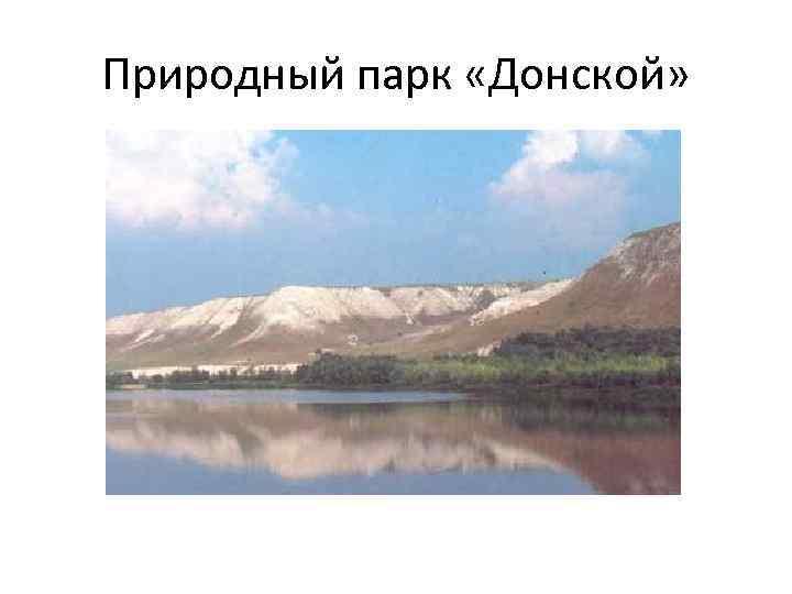 Природный парк «Донской»