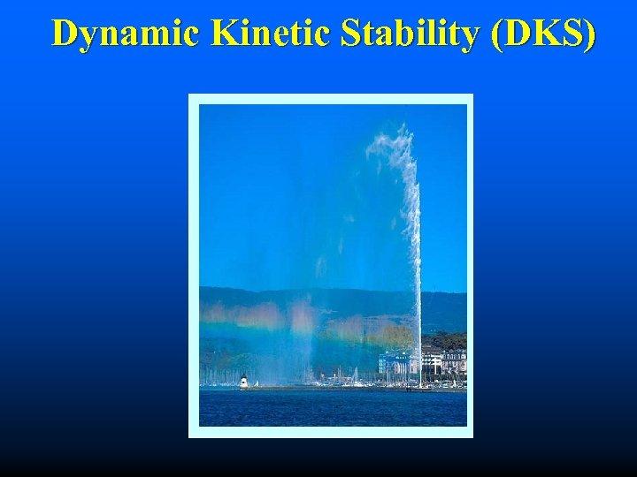 Dynamic Kinetic Stability (DKS)